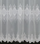 RUBY WHITE MADE TO MEASURE PURE VOILE CURTAINS